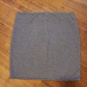 LOFT Skirts - Loft striped stretch skirt